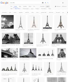 You can enable filters provided by Google Images. <br /> <br /> For