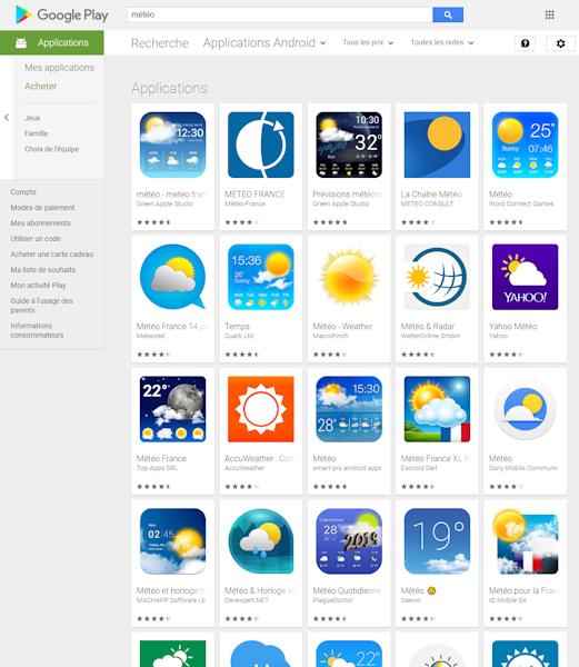 Suivez les positions de votre application sur le Play Store de Google